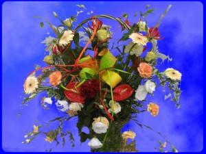 Bukiet kwiatów - poczta kwiatowa