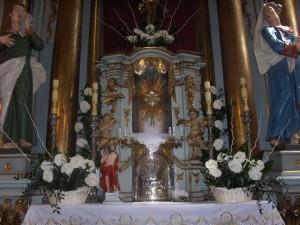 Dekoracja Kościoła - białe anturium