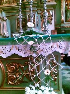 Dekoracja ubieranie Kościoła - oryginalna